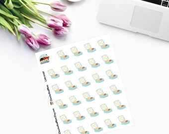 Itty Bitty Lunch Box Planner Stickers CAM00187