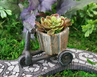 Miniature Tricycle/Scooter Planter