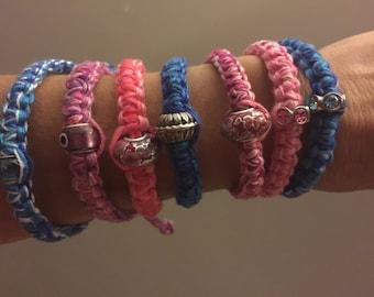 Macramé bracelets 3.50