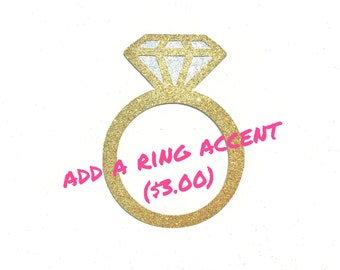 Banner Add On Glitter Ring Accent