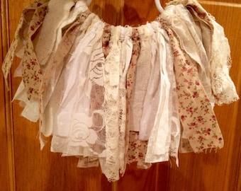 Shabby Chic Baby Skirt