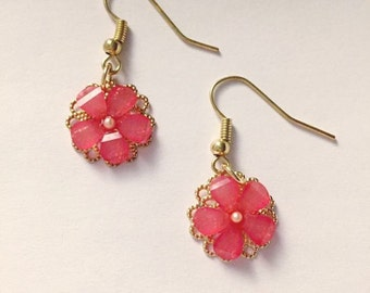 Cherry blossom dangle and drops