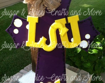 Cross Geaux Tigers