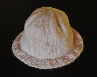 Girls Baby Wool Hat