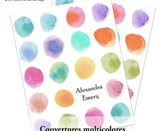 Agenda multicolor 2016 - planner 2016