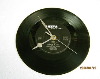 "King Kurt - ""Billy"" Vinyl Record Wall Clock"