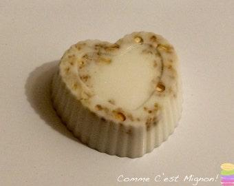 oats & honey shea butter soap