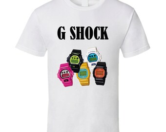 G Shock Watch T Shirt