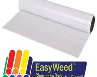 SISER EasyWeed Glow in the Dark Heat Transfer Vinyl Sheets