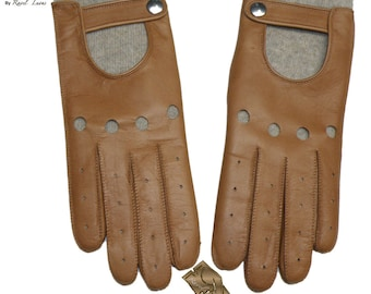 Ladies Driving Leather Gloves (SCO12016)