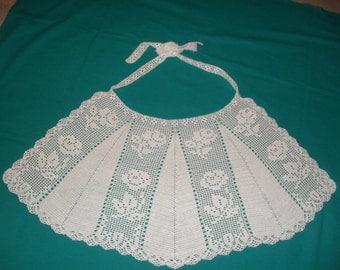 Unique Piece. Crochet apron