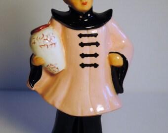 1953 Handmade Asian Woman Figurine
