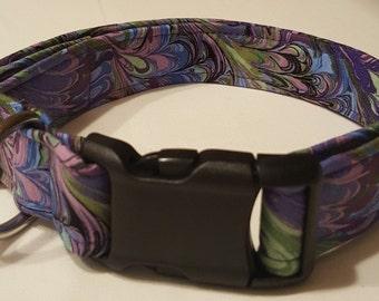 Purple Picasso Dog Collar