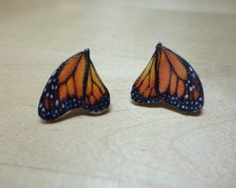Monarch Wings Earrings