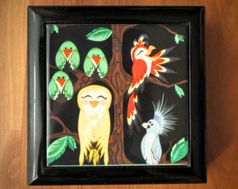Menagerie Jewelry Box