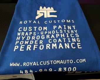 Royal Customs Blue Tee