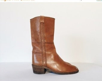 20% OFF Vintage Western Leather Italian Boots