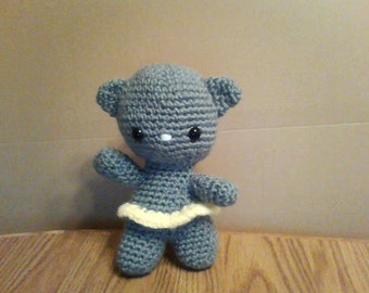 Amigurumi  Crocheted Cat