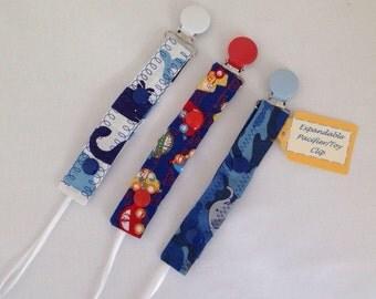 Pacifier Clip Toy Clip EXPANDABLE Set Baby Infant Gift Expandable