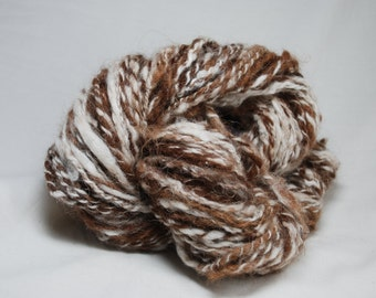 Root Beer Float - handspun yarn