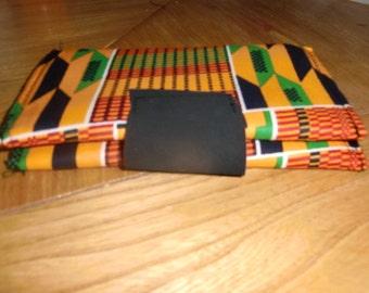 Kente Double wallet purse