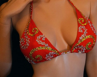 Bathing suits bikinis By LauraG-crystals com