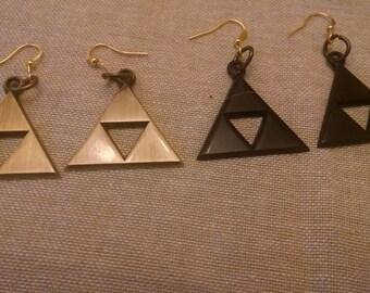 The Legend of Zelda Triforce Earrings