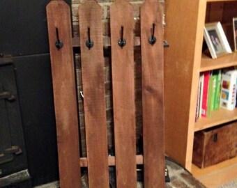 Coat rack or stocking holder