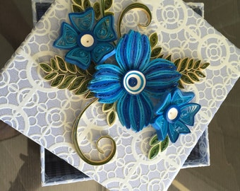 Gift or Photo box - Blue