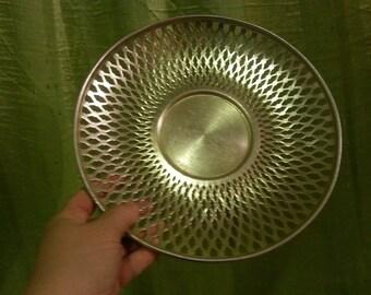 Metal aluminiy sneck bowl in the patterns