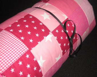 Playmat 80x80cm pink / pink