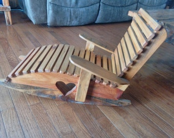Handmade child's chair