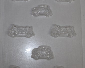 CARS and FIRE TRUCKS Chocolate Mould Mold