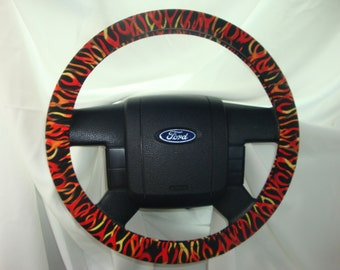 Steering Wheel Cover-100% Cotton.