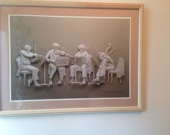 "Reinhard ""Rehearsal 1976"" Framed Print 32"" x 24"""