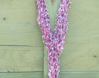 Decorative scarf - Valentines day.