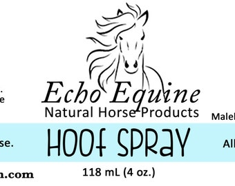 Equine Products - Natural Hoof Spray