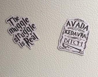 Harry Potter Magnets