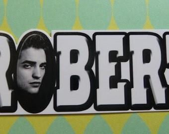 Robert Pattinson Name Sticker
