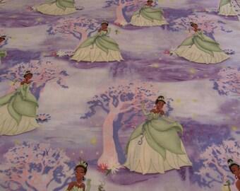 BTY Disney Princess Bayou Scenic Print 100% Cotton By The Yard