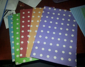 Set of 5 Mixed Envelopes