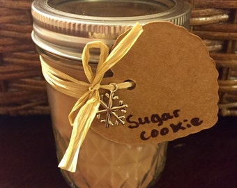Sugar Cookie Soy Candle 8oz Mason Jar