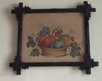 Antique Vintage Old Wooden Frame