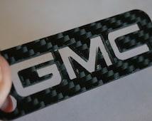 GMC Titanium & Carbon Fiber Keychain