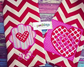 Chevron Tea Towel-Valentine Designs