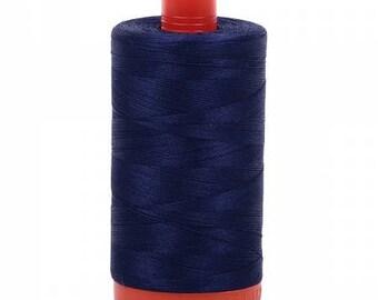 Indigo Blue Mako Cotton Thread 50 wt - 1422yds