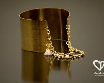 24K Gold Plated Slave Bracelet