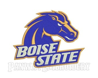 5 Size Boise State Broncos Logo Embroidery Designs, Machine Embroidery Designs, College Football Embroidery Designs - INSTANT DOWNLOAD