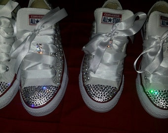 Wedding Bling Converse