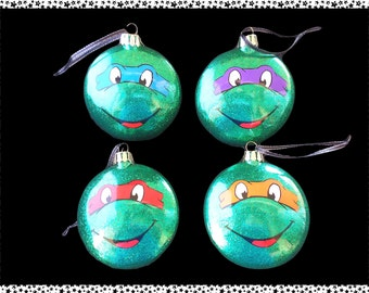 Character Themed Baubles (TMNT)
